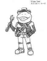 Starfox-Slippy Toad by MDTartist83