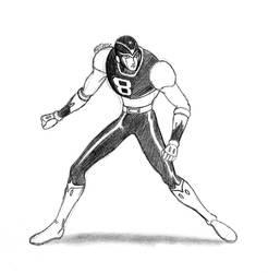 8-Man Sketch by MDTartist83