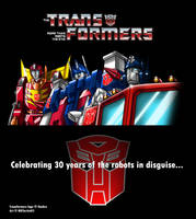 Transformers 30th Anniversary by MDTartist83