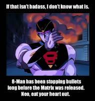 8-Man Stops Bullets by MDTartist83