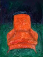 Sexy Orange Chair... by alizarine