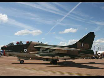 F8 Crusader static RIAT 07 by Falken1