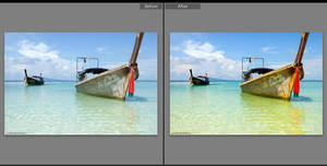 Color Pop for Bright Water Lightroom Preset by presetsgalore