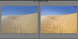 Dramatic Sand Lightroom Preset by presetsgalore