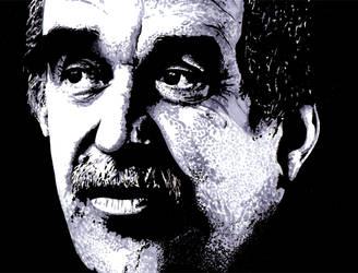 Gabriel Garcia Marquez by Mizalion
