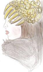 golden diadem by ishil