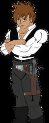 Anime Han Solo by roymanfredi