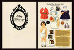paper doll birthday postcard by feelgooodlost
