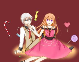 In The Wonderland Of Candy by sakihellish13