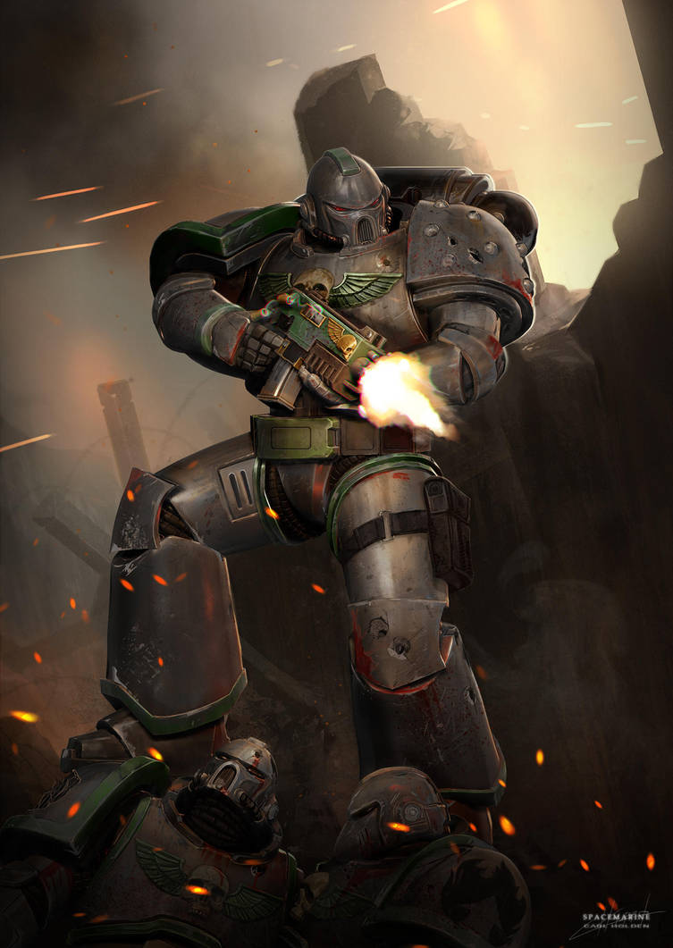Space Marine by CarlHolden