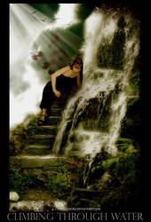 Climbing through water by ErebusOdora