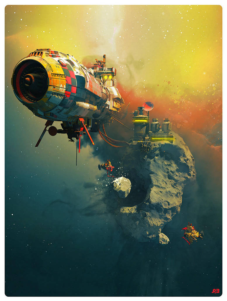 FOSS STATION 77 by pascalblanche