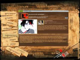 Peronal Portfolio website by one8edegree
