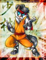 Shaolin dog by MVpurplespot
