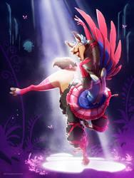 Llama Dancer by MVpurplespot