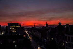 Red sky by Reiep