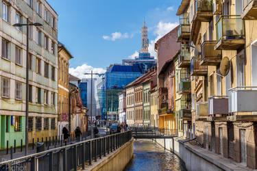 Cluj-Napoca's streets by Reiep
