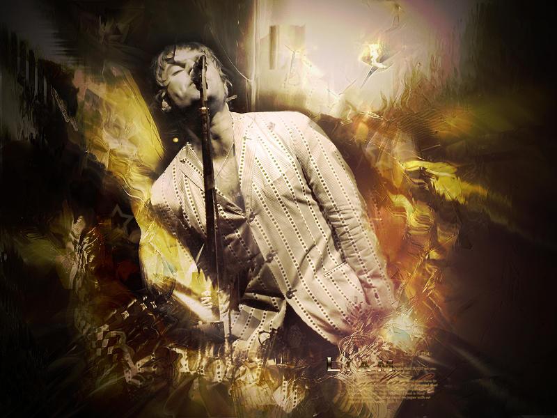 Liam Gallagher Wallpaper By Marcelo G On Deviantart