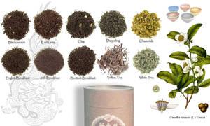 Tea Lover's Wallpaper by celtic-chrys