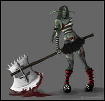 Zombie fantasy series: Elf by duece