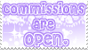 .:Commission Stamp OPEN:. by Hatty-hime