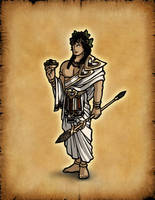 Olympians: Dionysus by Hiroki8