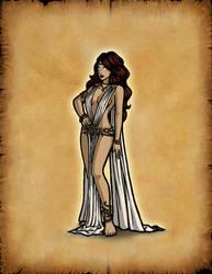 Olympians: Aphrodite by Hiroki8
