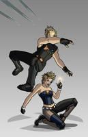X-men Costume Redesign: Dazzler and Longshot by Hiroki8