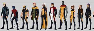 X-men Costume Redesigns by Hiroki8