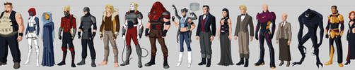 X-villains Costume Redesigns by Hiroki8