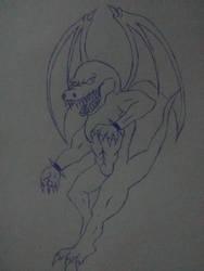 Dark Dragon by Krookogron