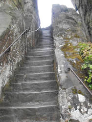 Esternsteine: Stairs by Lillybelli