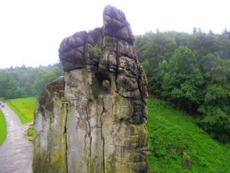 Externsteine Stonetop by Lillybelli