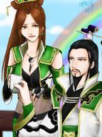 Zhuge Liang x Yue Ying by InfinityTingTing