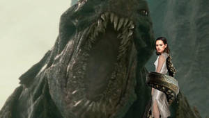 The Kraken's Meal #3 (Daisy Ridley) by Bennyboy2001