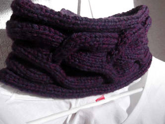 Grande Cable Cowl by kanitted