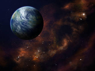 Planet Space Wallpaper 1600x1200 by Anikoo