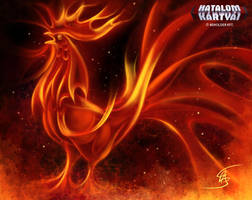 Fire Rooster by Anikoo