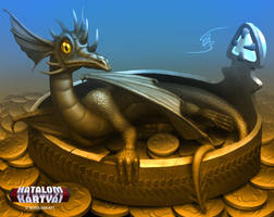 Fortune Dragon by Anikoo