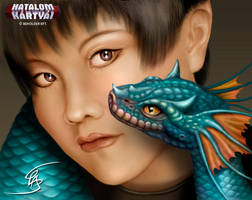Little Dragon by Anikoo