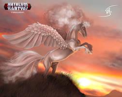 Mistmaned Pegasus by Anikoo