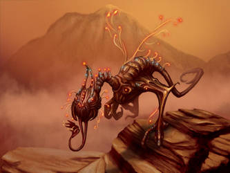 Creature Painting Pactice by Anikoo