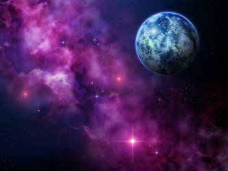 Planet Nebula Wallpaper by Anikoo