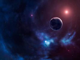 Blue Planet Nebula Wallpaper 1600x1200 by Anikoo
