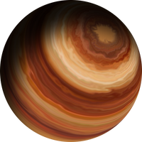 Colorful Gas Giant 1 by Anikoo
