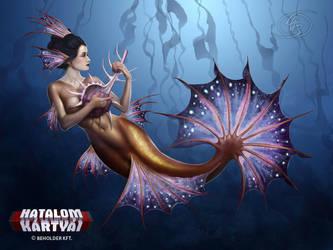 Mermaid geisha by Anikoo
