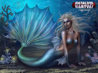 Mermaid girl by Anikoo