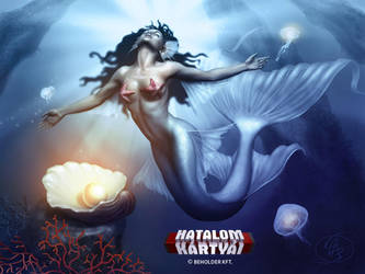 Mermaid priestess by Anikoo
