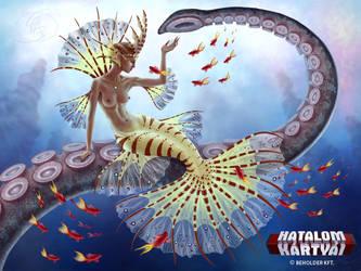 Mermaid empress by Anikoo