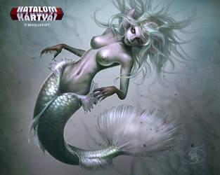 Zombie mermaid  by Anikoo